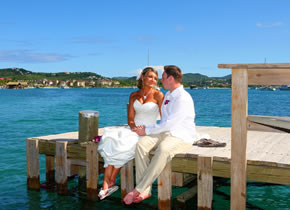 Pigeon Island St Lucia Wedding