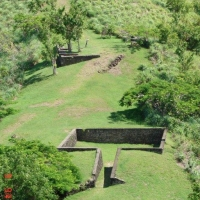 Musket Redoubt at Pigeon Island